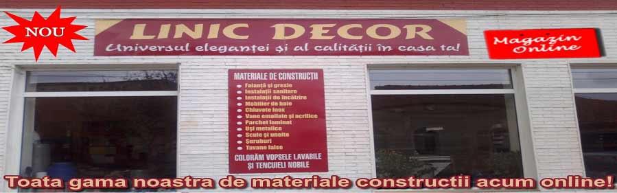 depozit materiale constructii, marghita, bihor, linic decor
