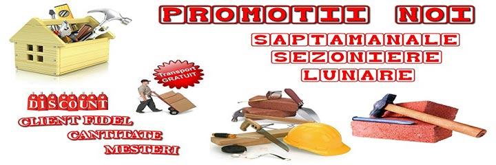 Promotii, reduceri, discounturi, transport gratuit
